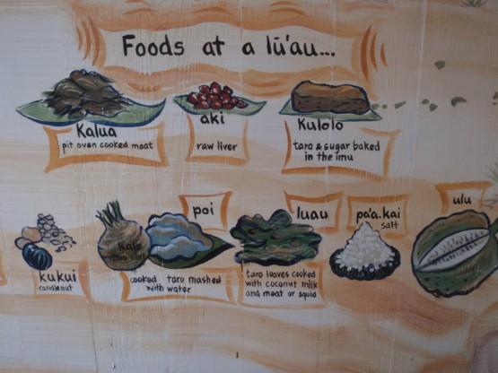 Lu'au food