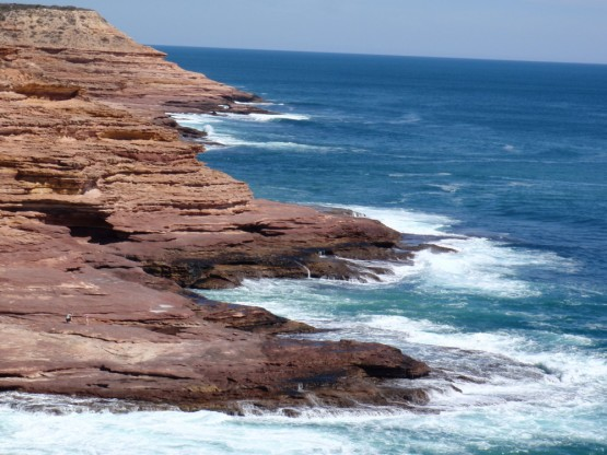Breath-taking cliffs near Kalbarri
