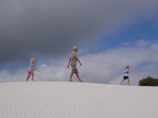 Three kids on a mission...
