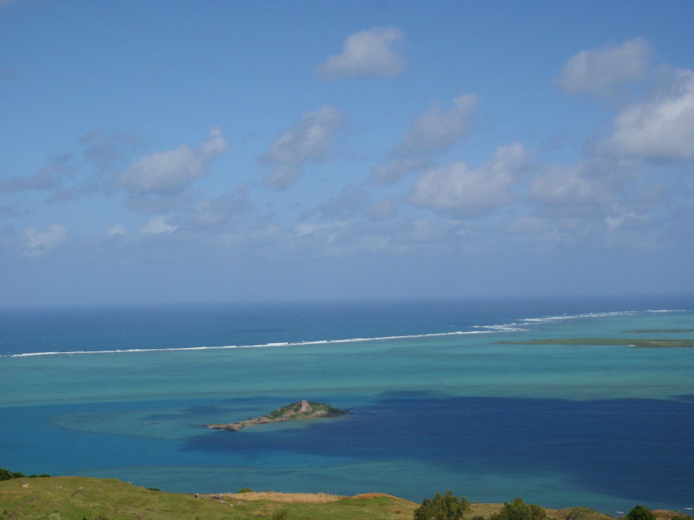 the magic lagoon of Rodrigues