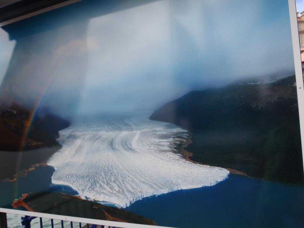 Moreno glacier in Patagonia