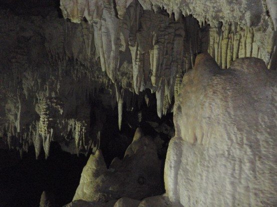 Le caverne a Anse Quitor