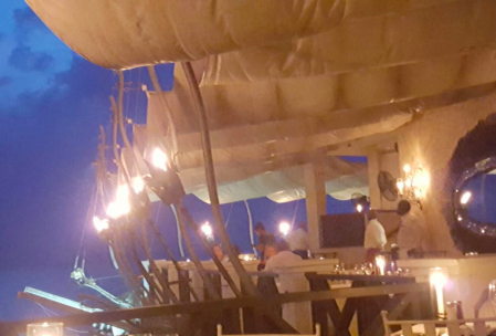 The Cliff restaurant - exquisite food for astronomical prices