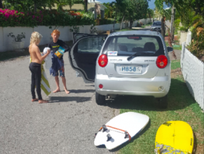 2016 Barbados after surfing