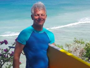 2016 barbados Gerry surfing
