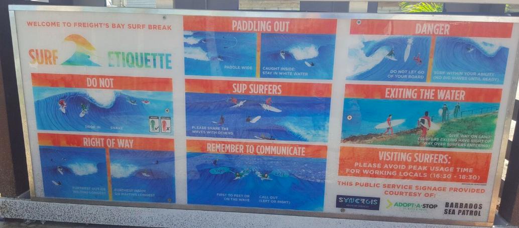2016 barbados surf etiquette