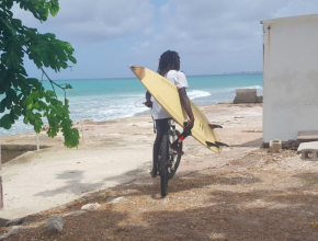2016 barbados surfer dude