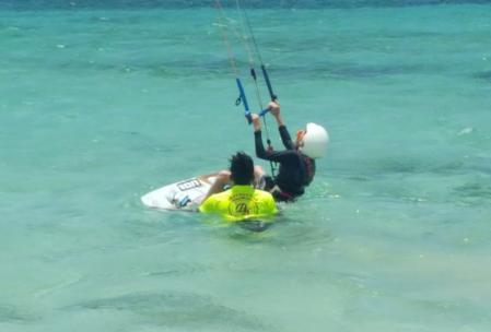 DR Las Terrenas 2016 6 28 Robby kite